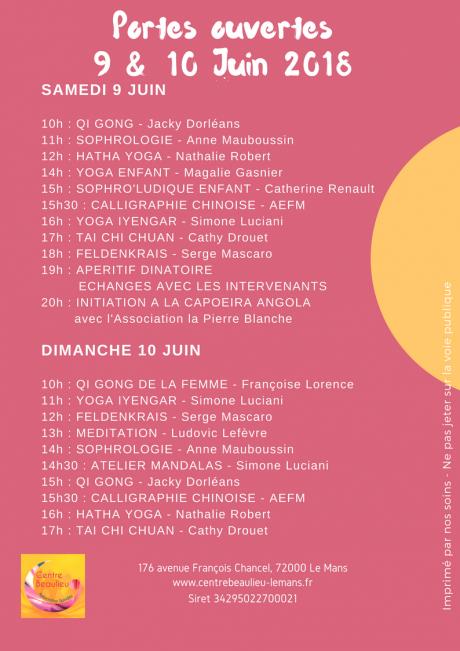 Flyer Porte Ouverte Juin 2018 verso